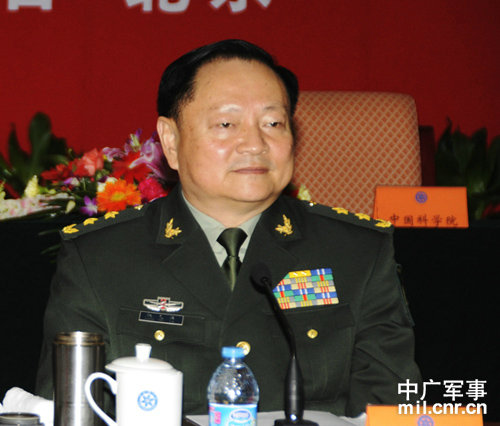Zhang Youxia, head of the PLA's general armaments department and ally of Xi Jinping. (Sohu Military Net)