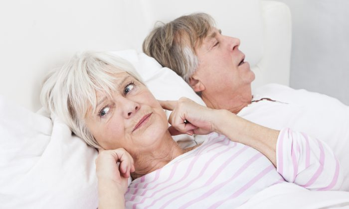 Most of the time you won't be aware if you have sleep apnea. However, anyone who sleeps in the same house might. (AndreyPopov/iStock)