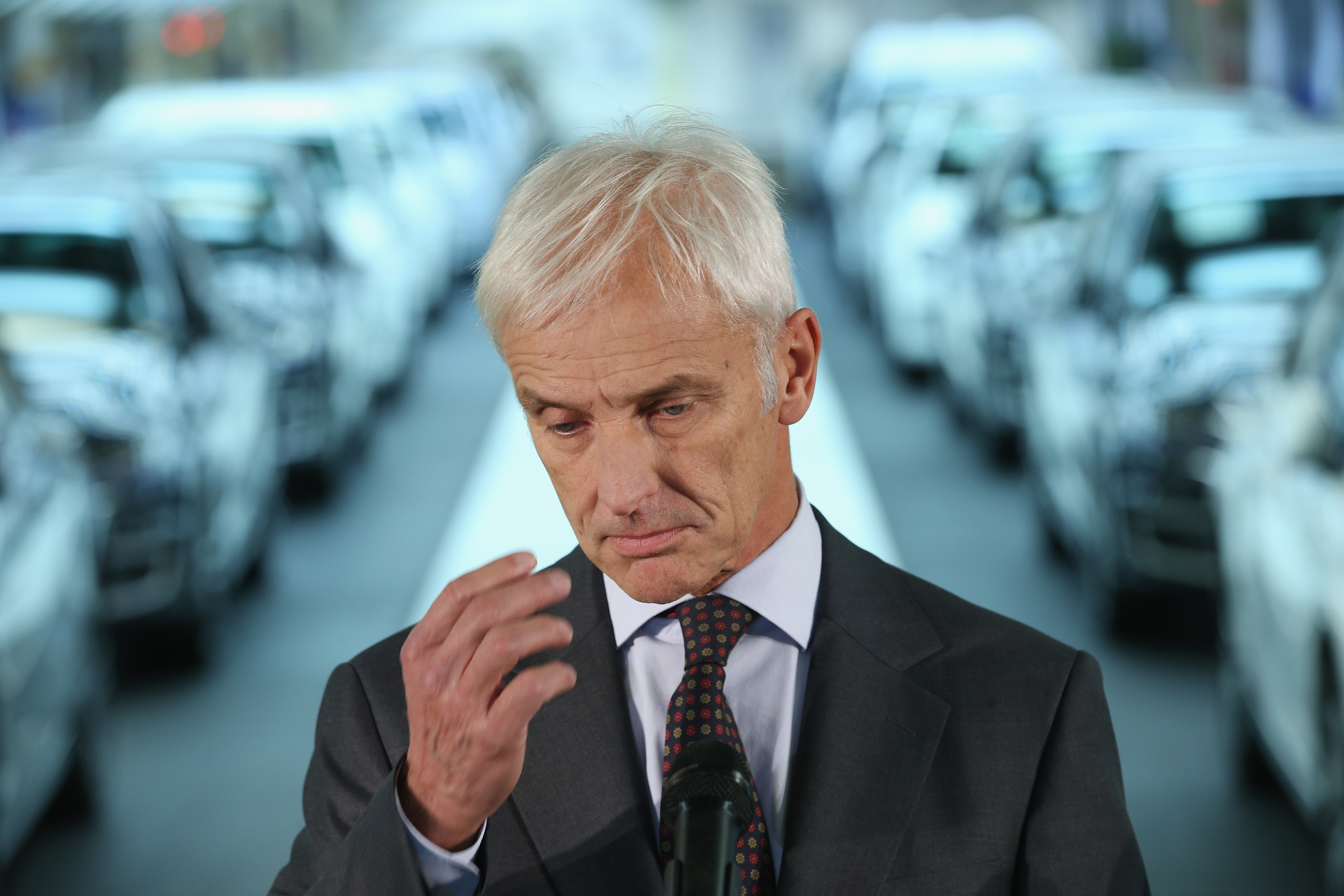 VW Brand Manager Hoping for Swift Clarification in Scandal