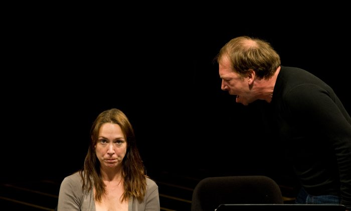 Elizabeth Marvel and Bill Camp. (Howard Korn)
