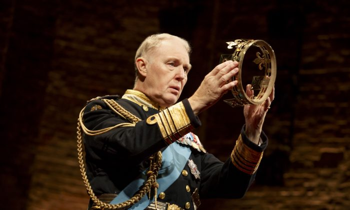 "What might happen if Prince Charles became king?  Tim Pigott-Smith takes the title role in ""King Charles III"" in just such a scenario. (Joan Marcus)"