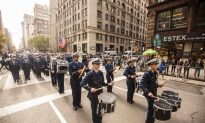 In Parade, Falun Gong Contingent Reminds New Yorkers That Freedom Isn't Free