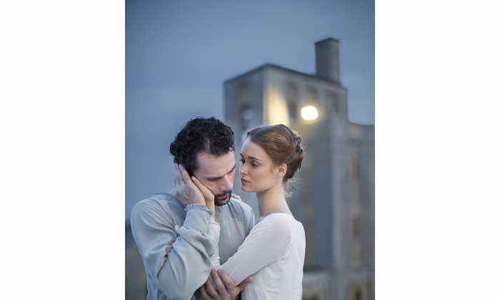 "Hannah Fischer and Piotr Stanczyk will dance in ""The Winter's Tale,"" which opens at Toronto's Four Seasons Centre for the Performing Arts on Nov. 14, 2015. (Karolina Kuras, courtesy National Ballet of Canada)."