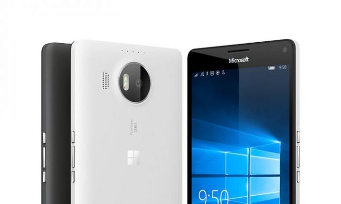 Microsoft is looking to launch its Lumia 950 and Lumia 950 XL phones Nov. 20, according to reports this week. Windows Central has reported that the phone will be on AT&T. (Microsoft)