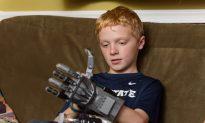 Claymont Boy Prints Hand, Wins Arm-Wrestling Match
