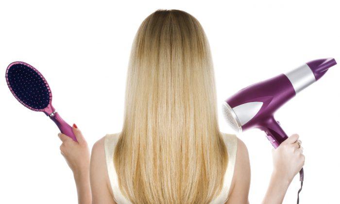 A stock photo of hair (Inga Ivanova/iStock)