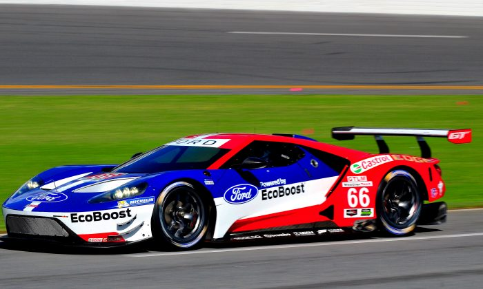 The Much Anticipated Ford Gt Made Its Official U S Testing Debut Bill Kent Epoch Times
