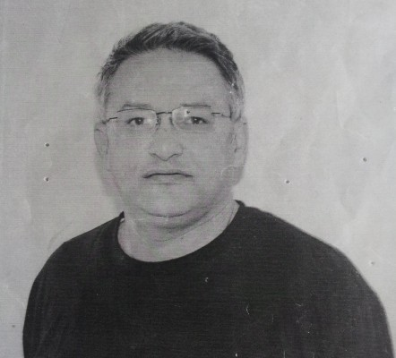A photograph that George Karimi smuggled out of Beijing No. 2 Prison in 2009 to give to his family. (Courtesy of George Karimi)