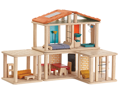 Creative Play House by Plan Toys