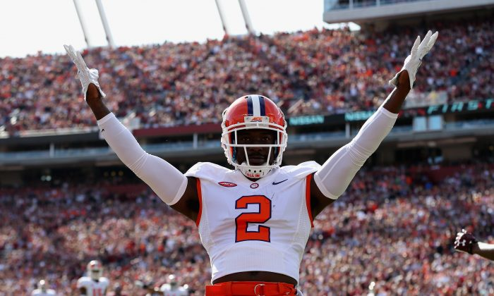 Mackensie Alexander and the Clemson Tigers simply need to beat North Carolina and they're a lock to make the playoffs. (Streeter Lecka/Getty Images)