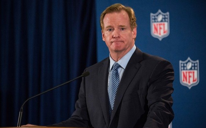 NFL Commissioner Roger Goodell has been working to put a team in Los Angeles since the Raiders and Rams left 21 years ago. (Andrew Burton/Getty Images)