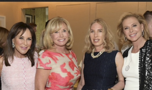 Lauren Lawrence co-chaired a charity for the Samuel Waxman Cancer Research Foundation at the home of Andrea Stark. (Courtesy of Lauren Lawrence)