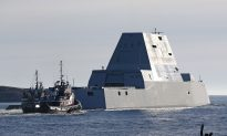 The U.S. Navy's Largest Destroyer Ever Heads out to Sea for Testing