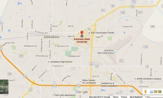Asu Jonesboro Campus Map.Active Shooter Reported At Arkansas State University Shooter