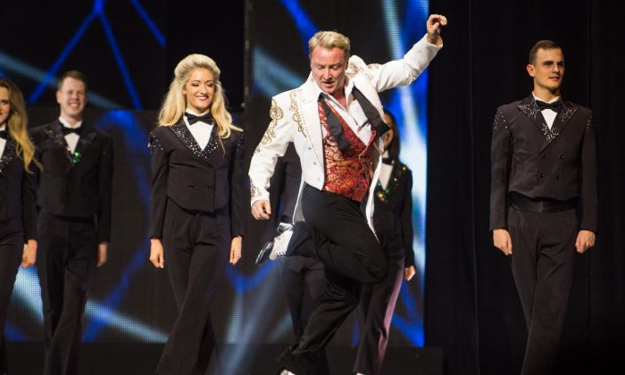 "Michael Flatley in ""Lord of the Dance."" (Brian Doherty for Rapa Investments)"