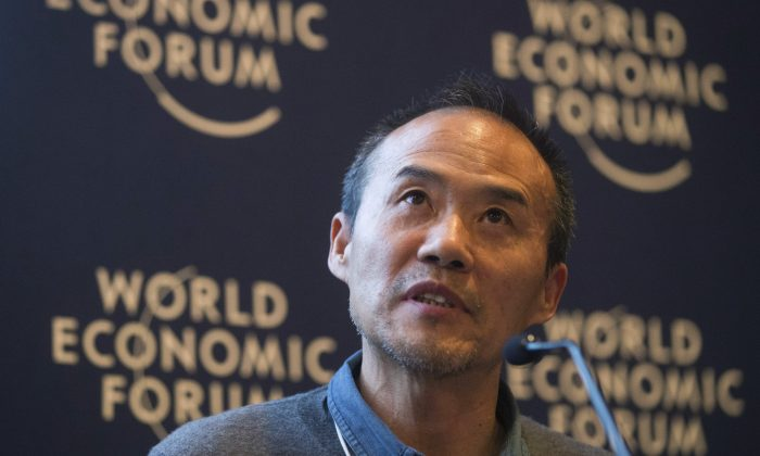 China Vanke Chairman Wang Shi speaks at the 2013 World Economic Forum, in Davos. Wang is has been in the midst of a drawn-out fight with Vanke's largest shareholder over control of the company. (AP Photo/Michel Euler)