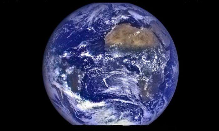 Earth. (NASA/Goddard/Arizona State University)