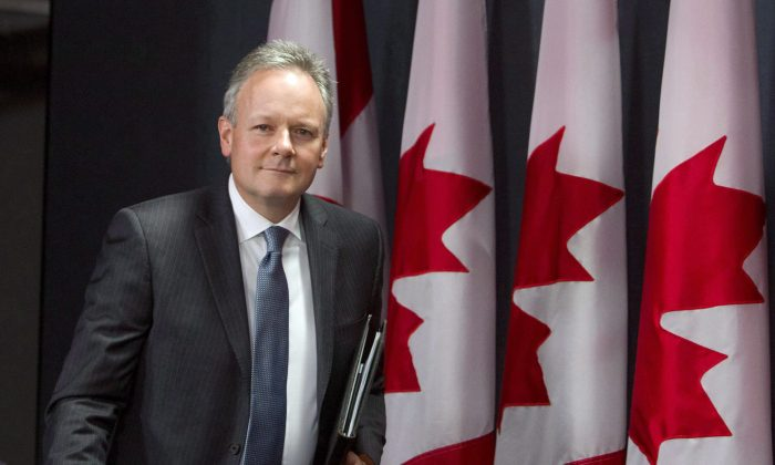 Bank of Canada Governor Stephen at a press conference in Ottawa on Dec. 16, 2015. He was chosen by the Canadian Press as Canada's business newsmaker of the year for 2015 as the Canadian economy tried to deal with the drop in oil prices. (The Canadian Press/Fred Chartrand)