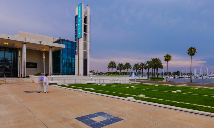 The Mahaffey Theater At The Duke Energy Center For The Arts, Florida. (Mark Zhou/Epoch Times)