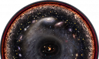 Artist Creates Stunning Logarithmic Image of Entire Known Universe