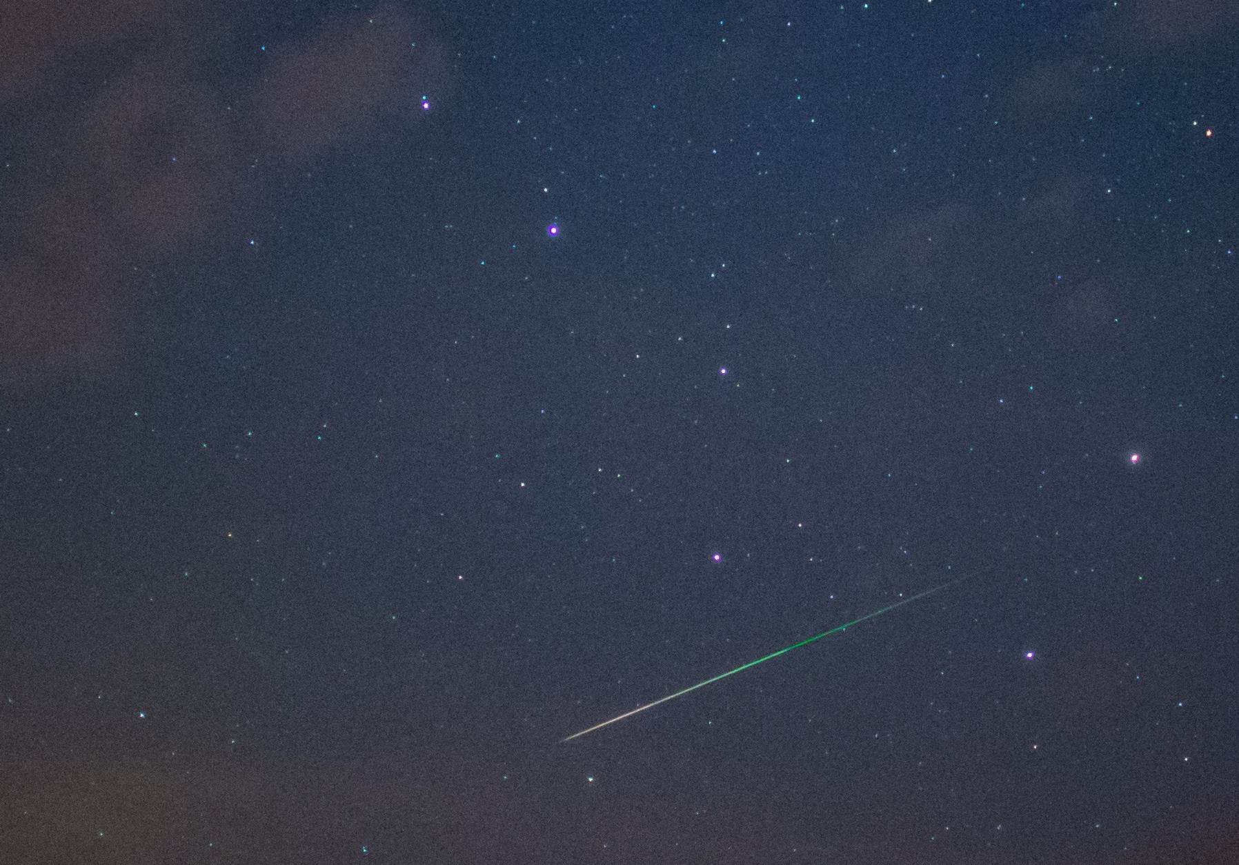 Meteor Lights Up Skies Above Scotland