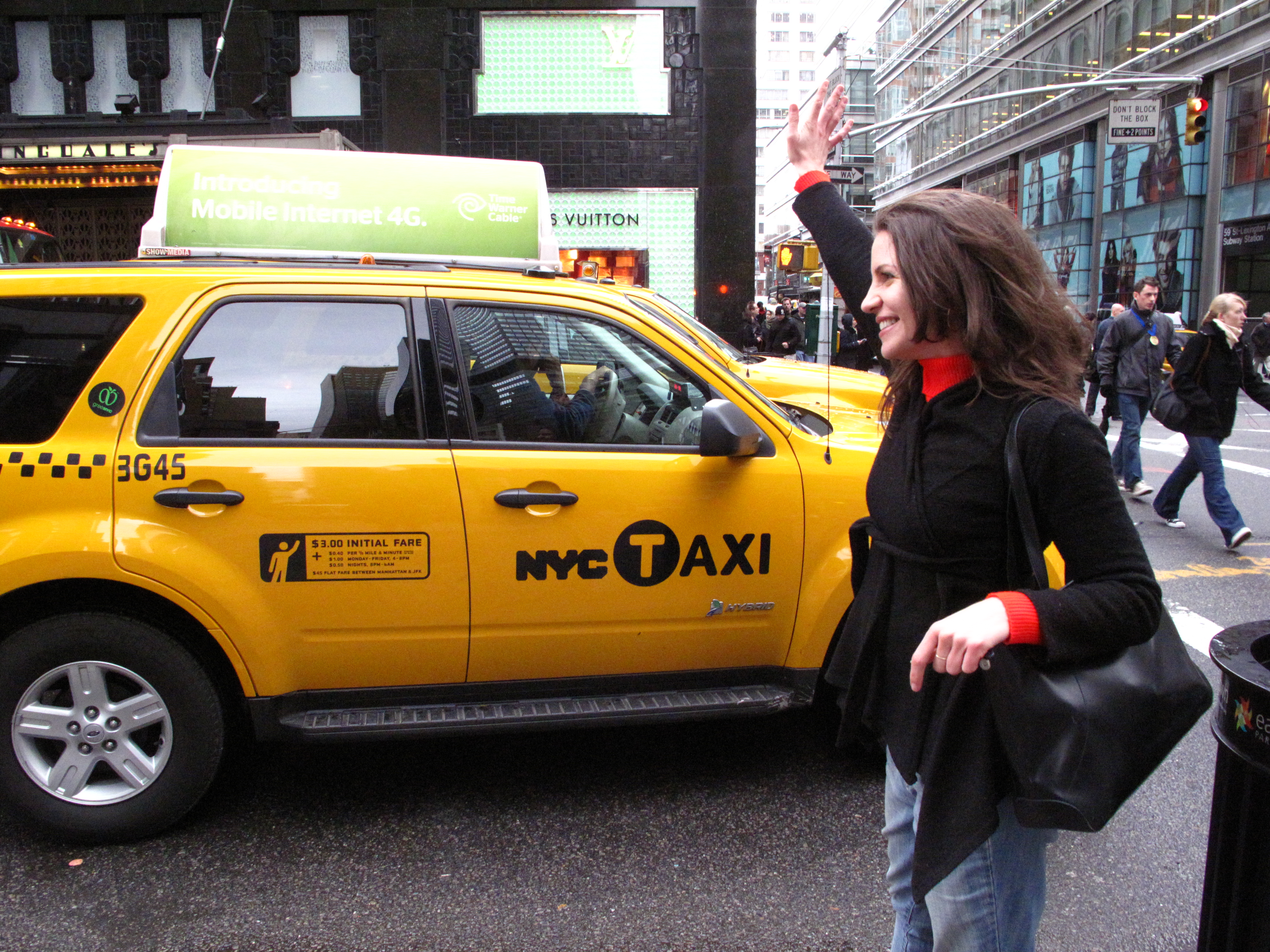 Food writer Layne Mosler had a short stint as a cabbie herself in New York City in 2010. (Amy Cao)