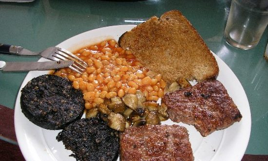 Black Pudding Was Included on List of Superfoods