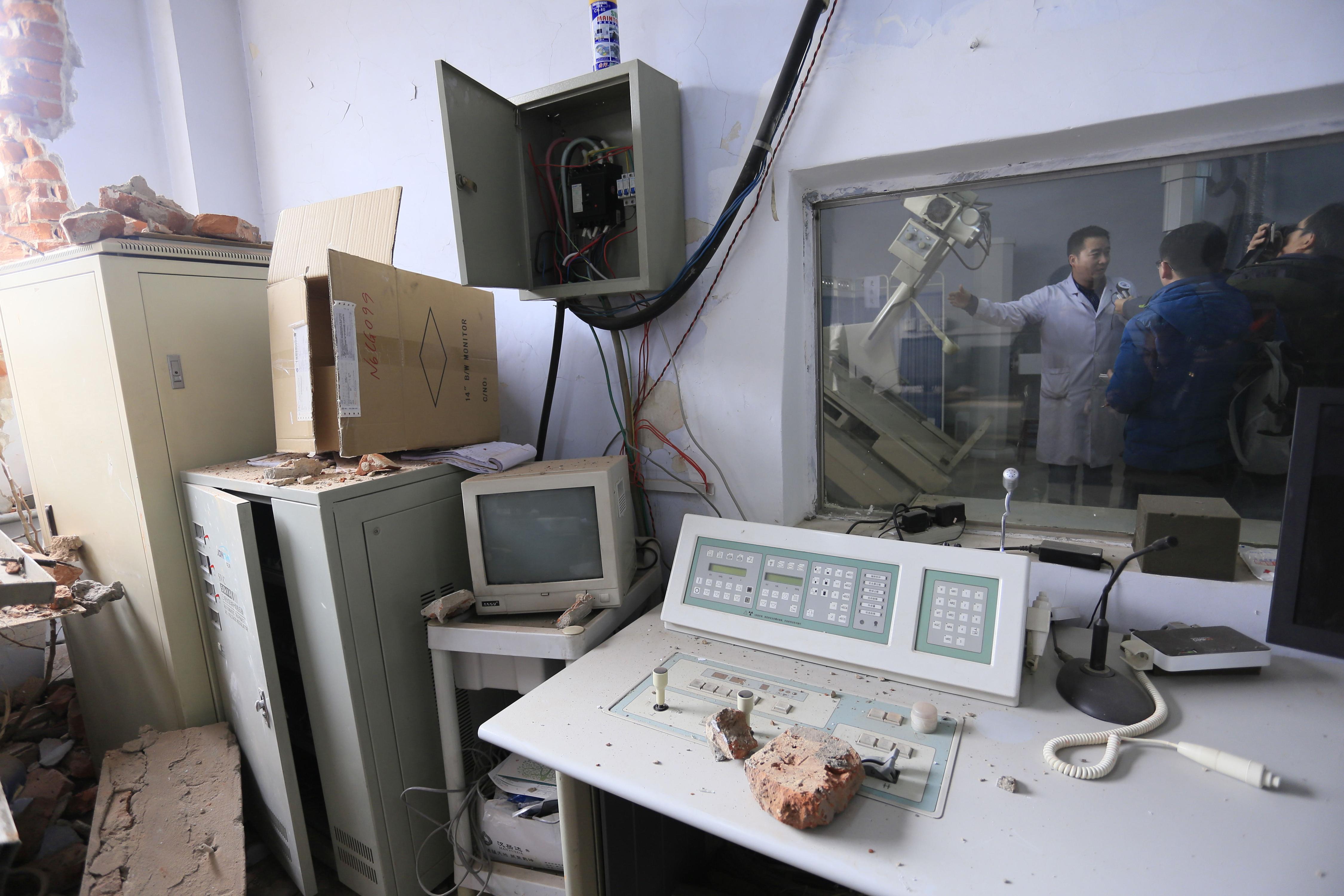 Demolition Crews Bulldoze Hospital While Still Operational