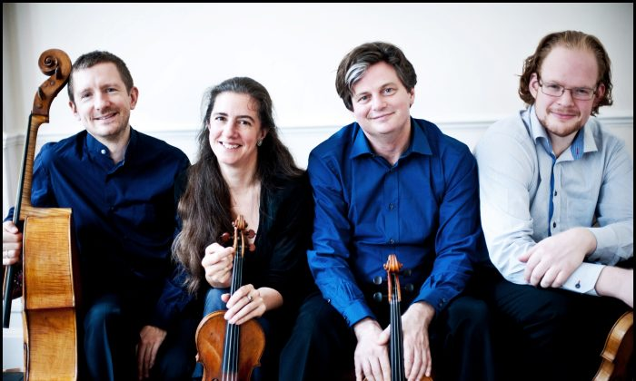 The London Haydn Quartet uses early period instruments to bring out a more natural, intimate feel.(Giorgia Bertazzi)