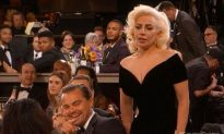 Video Captures Leonardo DiCaprio Making a Face as Lady Gaga Passed Him at Golden Globes