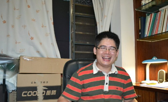 Zeng Feiyang, director of Panyu Workers Center, in an undated photo. (Weibo.com)
