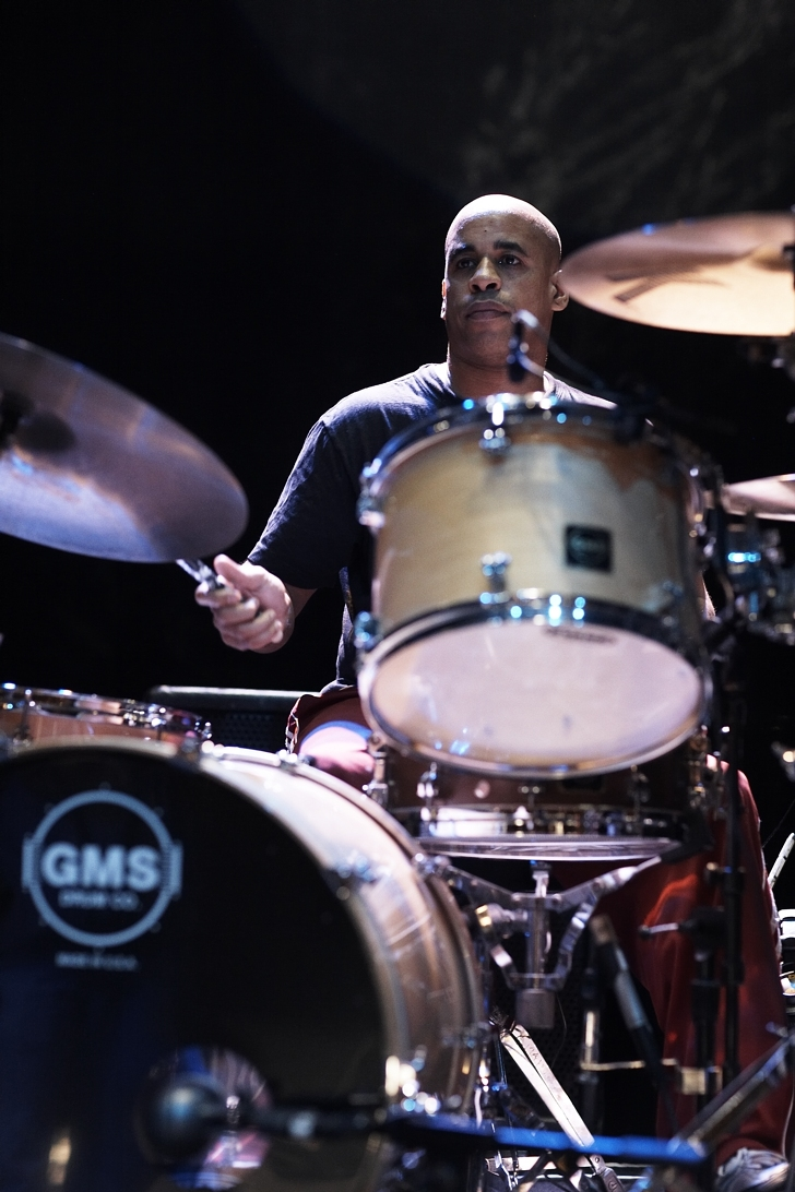 Sterling Campbell performing with the B 52's in New York on Nov. 8, 2008. (Courtesy of Sterling Campbell)