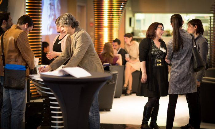 A view of a typical InterNations networking event. (InterNations)