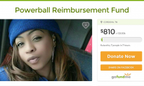 GoFundMe Kills Woman's Campaign After She Allegedly Blows Savings on Powerball Tickets