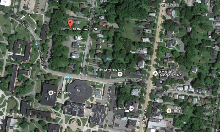 The bodies were found in a house on 18 Wadsworth Street, according to Democrat & Chronicle. (Google Maps)