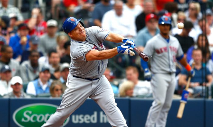 Without the DH rule we wouldn't get to watch Bartolo Colon attempt to hit. (Kevin C. Cox/Getty Images)
