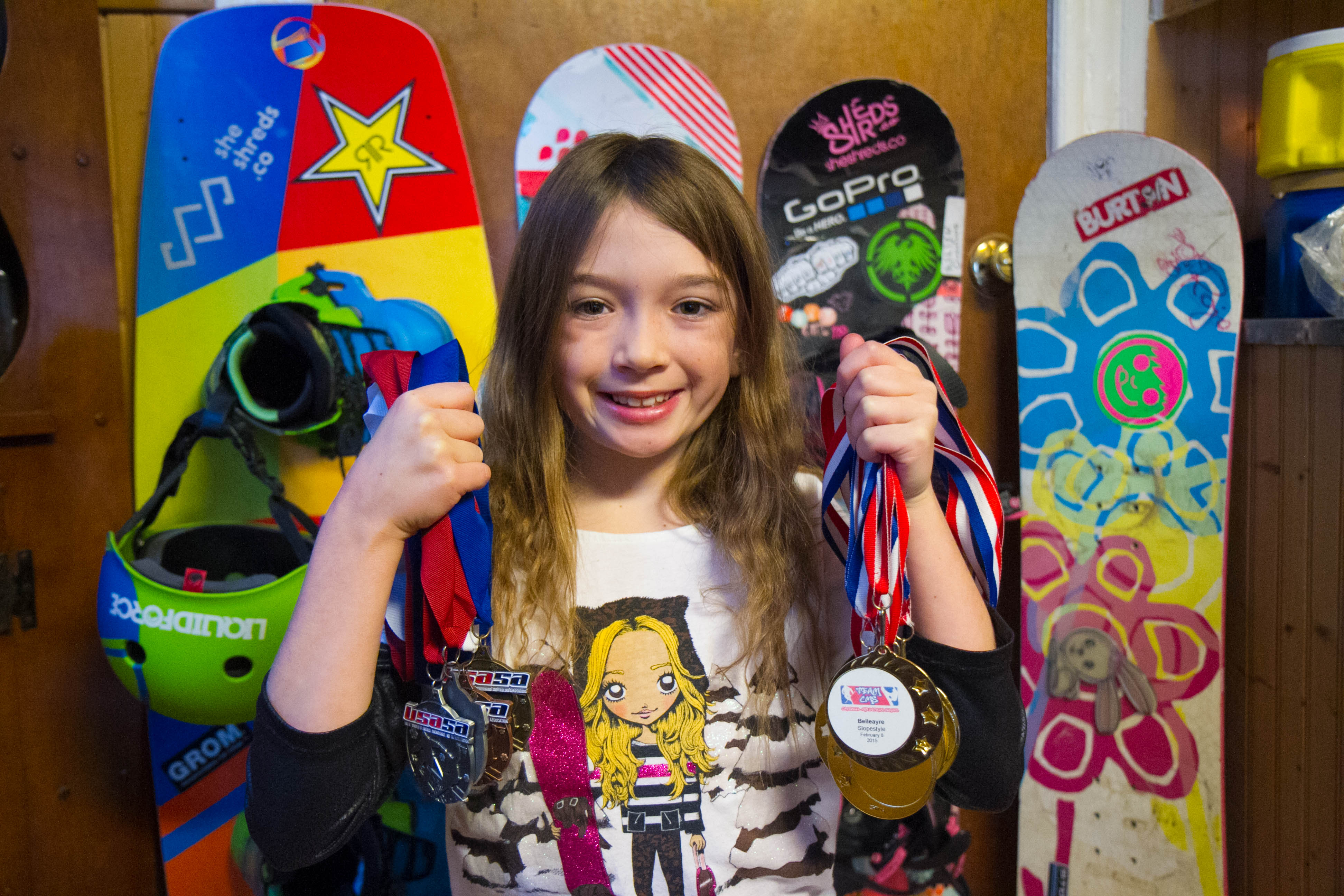 PJ Third Grader Brings Home Medals from National Snowboard Competition