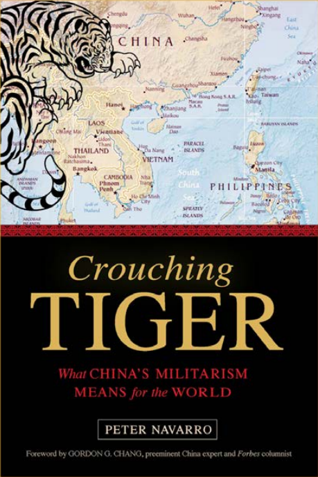 "The cover of ""Crouching Tiger,"" a new book from author and filmmaker Peter Navarro. It raises of the question of ""will there be a war with China?"" (Peter Navarro)"