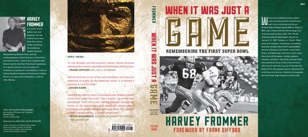 """A Sixth Excerpt From the Book: """"When It Was Just a Game"""""""