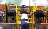 Video: Man Attempts to Squat 855 Pounds and Fails Miserably