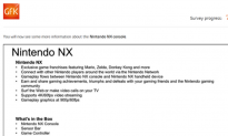 Nintendo NX Survey Leaked Online, People Freak Out Over 900p Resolution