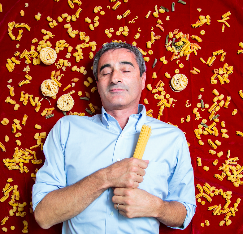How do you stand out against the competition? Riccardo Felicetti's pasta company has taken years to find the perfect grains to make single-origin pastas. (Samira Bouaou/Epoch Times)