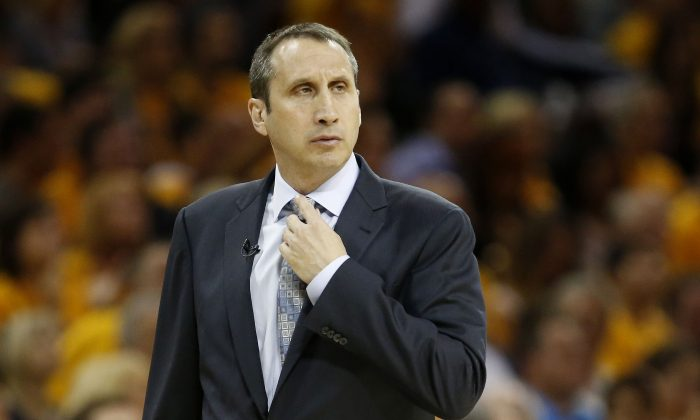 David Blatt was 83–40 in the regular season and 97–46 overall head coach of the Cleveland Cavaliers. (Gregory Shamus/Getty Images)