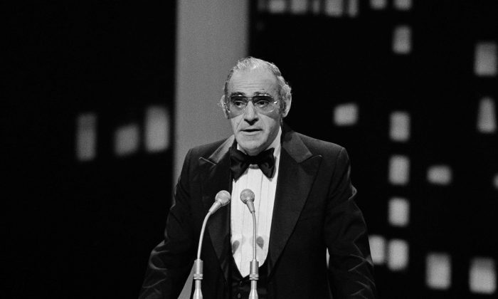 Actor Abe Vigoda at the People's Choice Awards held in Los Angeles, California, Feb. 20, 1978. (AP Photo/Jeff Robbins)