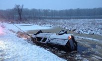 Video: Woman Rescued After Car Gets Stuck in Power Lines for Two Hours