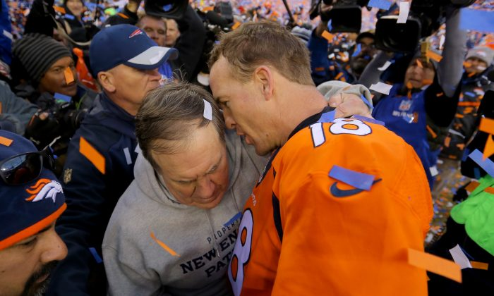 Peyton Manning may be preparing for his final game as a pro. (Justin Edmonds/Getty Images)