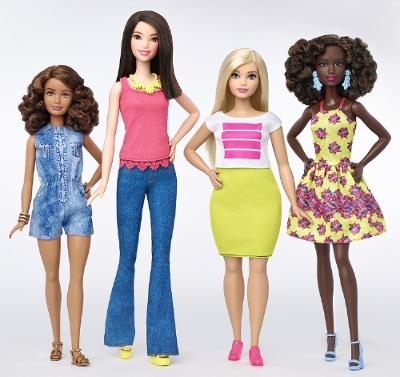 The 2016 Fashionista line of dolls (Mattel)