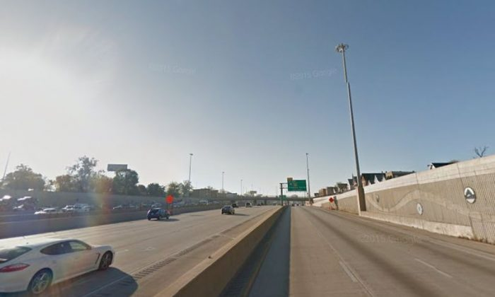 Dan Ryan Expressway (Google Street View)