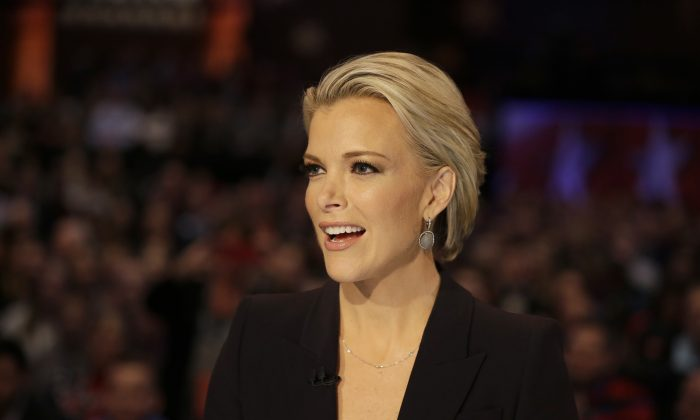 "Moderator Megyn Kelly talks during a Republican presidential primary debate, Thursday, Jan. 28, 2016, in Des Moines, Iowa. Her show ""Megyn Kelly Today"" won't return to NBC, the network said on Oct. 28, 2018. (AP Photo/Chris Carlson)"