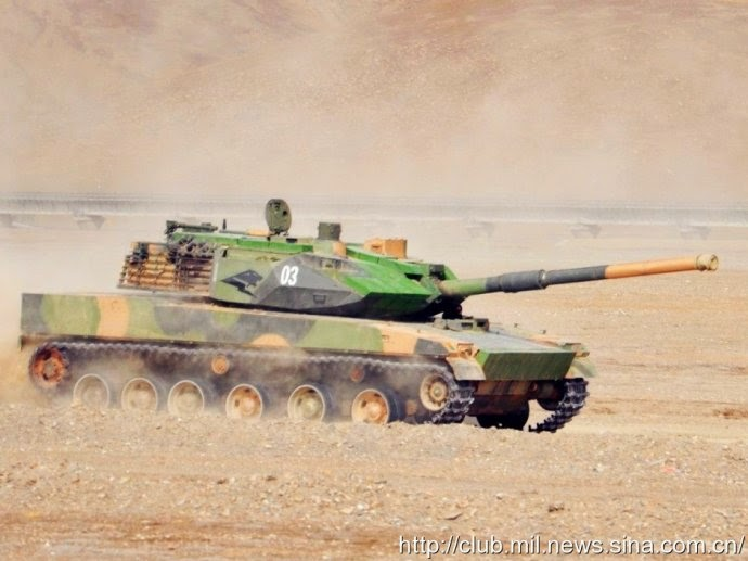 Details Emerge on China's New 'Mountain Tank'